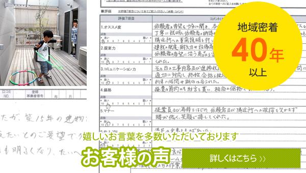 施工実績多数 お客様の声多数掲載 リフォームマイスター霧島(濱田工務店)