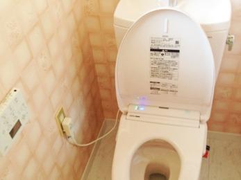 便座が暖かくなって冬場のトイレが楽になりました。