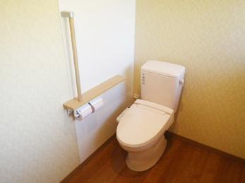 トイレの空間も広くなり、床の傾きも水平になり安心しました、快適に生活できます。また、宜しくお願いします。